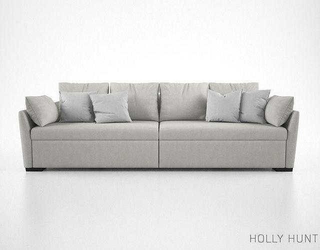 Holly Hunt Villa Sofa Model Max Obj Mtl Fbx