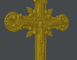 3D model Cross Christ
