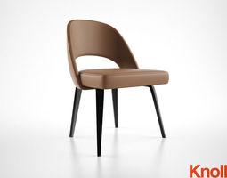 3d knoll saarinen chair