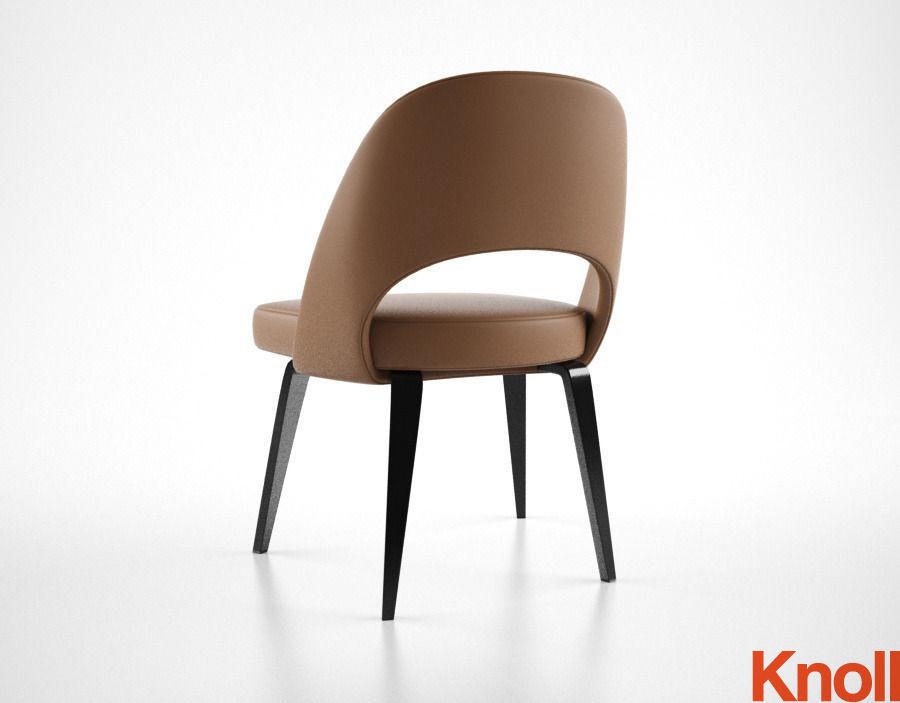 Knoll Saarinen Chair 3d Model Max Obj Fbx Mtl 4