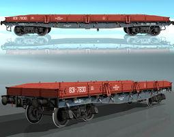 3D asset low-poly Platform type 13-H453