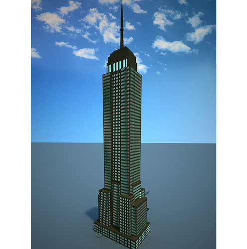 Empire State Building D Model Free Download