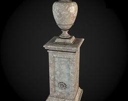 pedestals 029 3d model