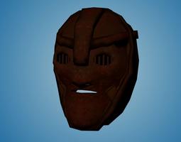 3D asset Iron Mask