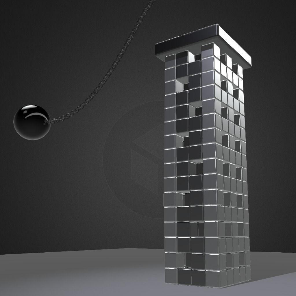 Bullet Physics Demolition Animation