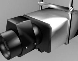 Camera CCTV Type 4 3D Model