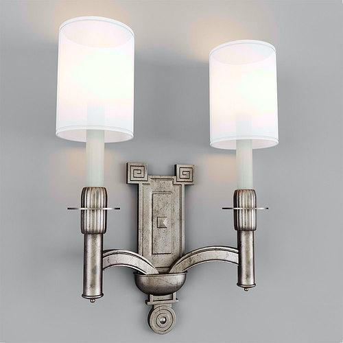3D model Wall lamp VISUAL COMFORT 02 CGTrader