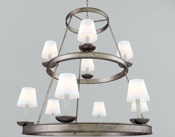 3D Chandelier VISUAL COMFORT CHC1463