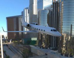 3D asset Gulfstream G450 Executive Jet Aircraft