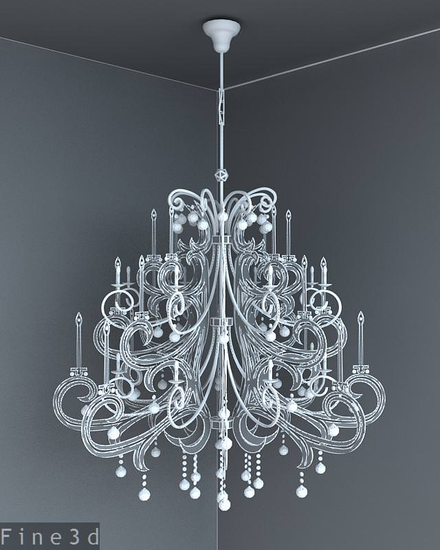 Chandelier big light gallery light ideas 3d model big chandelier cgtrader big chandelier 3d model max obj 3ds 2 audiocablefo light gallery aloadofball Image collections