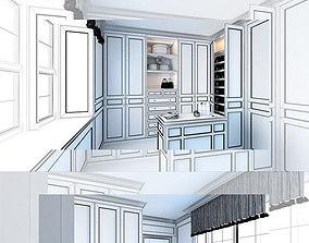 3D model Dressroom