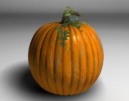 3d pumpkin