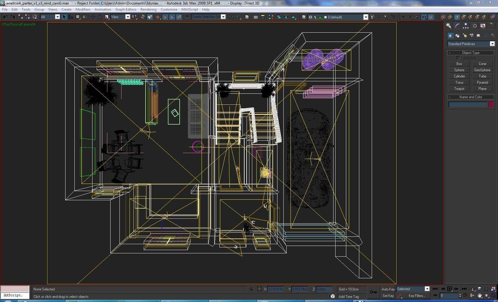Home interior floor plan 01 3d model max obj dwg mtl for Interior floor design