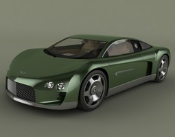 Bentley Hunaudieres Concept 3D