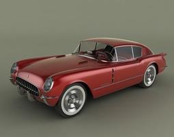 Chevrolet Corvette Corvair Concept 3D model