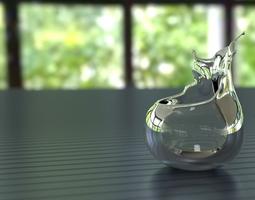 splashing bowl 3D printable model