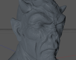 3D printable model Devilhead