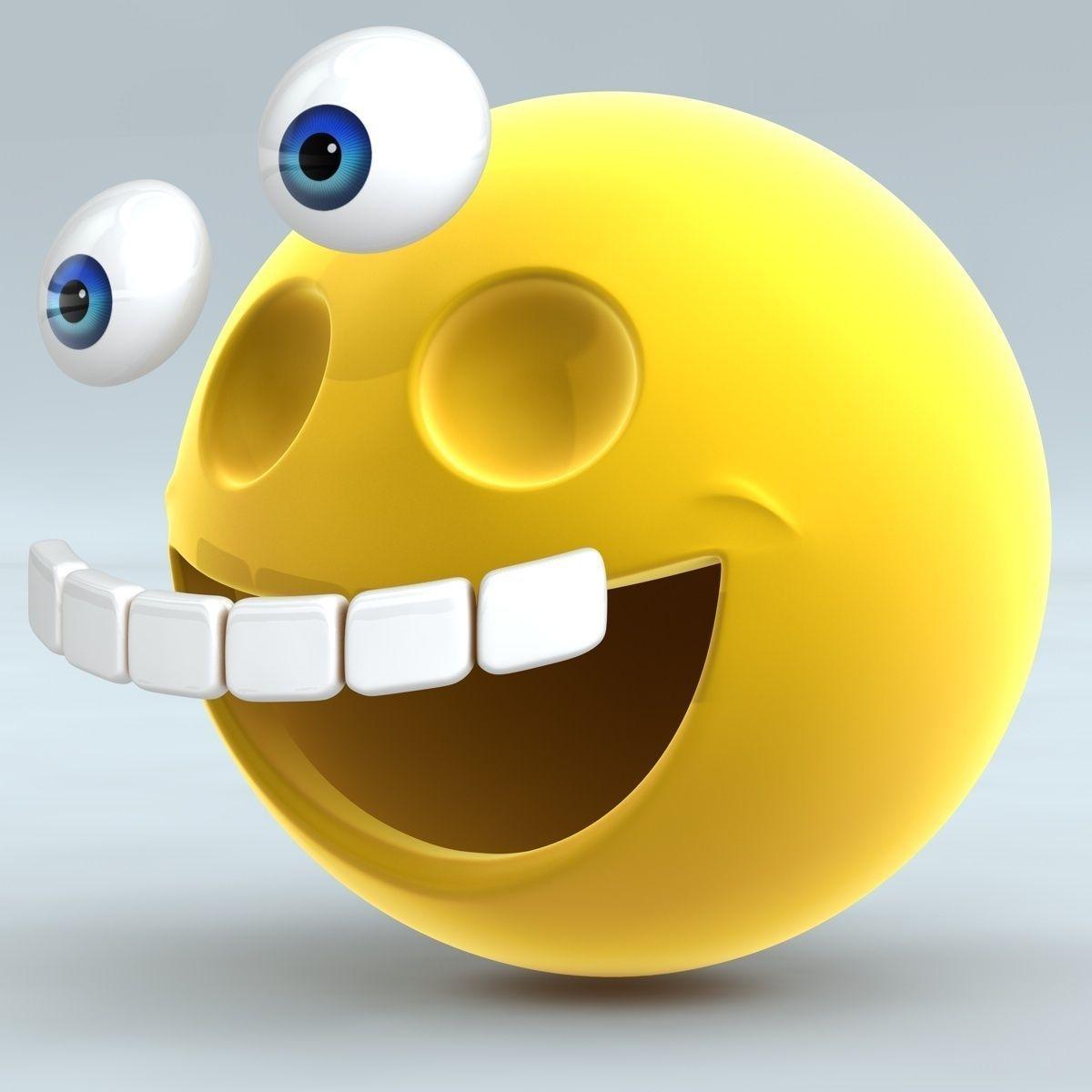 Smiley Face 3D Model OBJ 3DS FBX C4D   CGTrader.com
