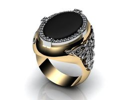 golden Luxurious Ring 3D
