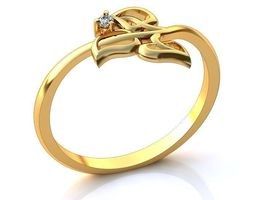 3d luxurious ring 029