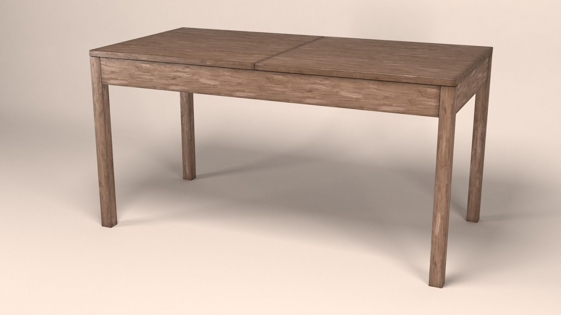 Old Wooden Table ~ Old wooden table d model max obj fbx cgtrader