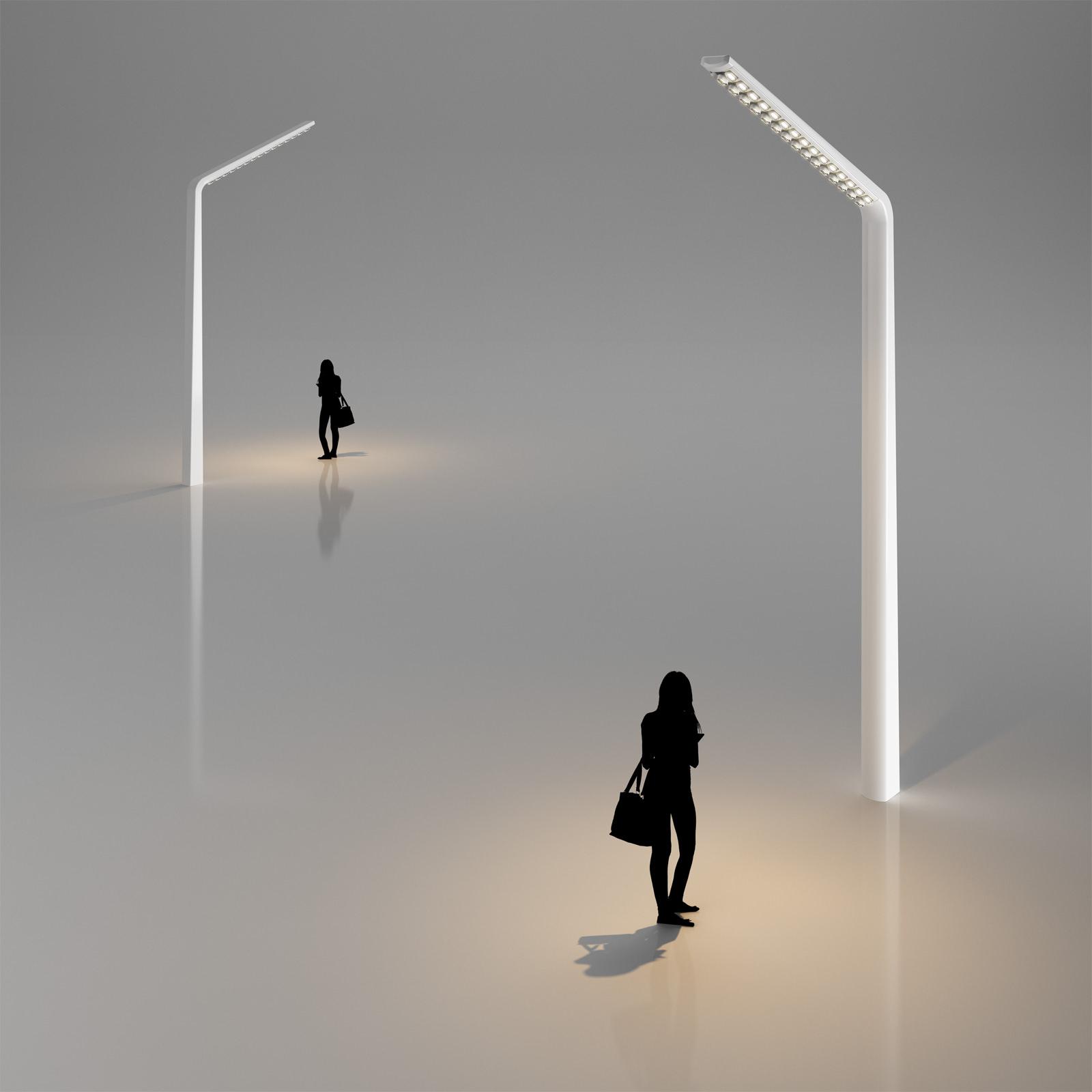Modern Street Lamp 3D Model MAX OBJ 3DS C4D | CGTrader.com