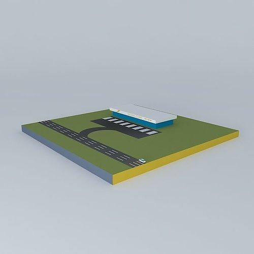 sketchyphysics driving straight car 3d model max obj mtl 3ds fbx stl dae 1