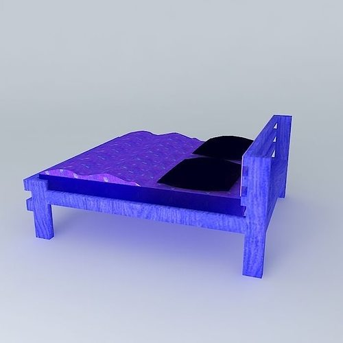 ... The Dizzy And Lazy Bed   Kraft Furniture ® ( 3d Model Max Obj 3ds Fbx  ...