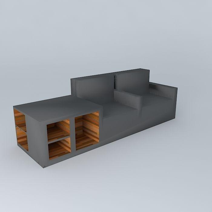 3D model Kraft Furniture® Devider© | CGTrader
