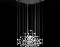 Hanging Crystal s Lamp 3D