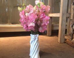 Rumpled vase 3D print model