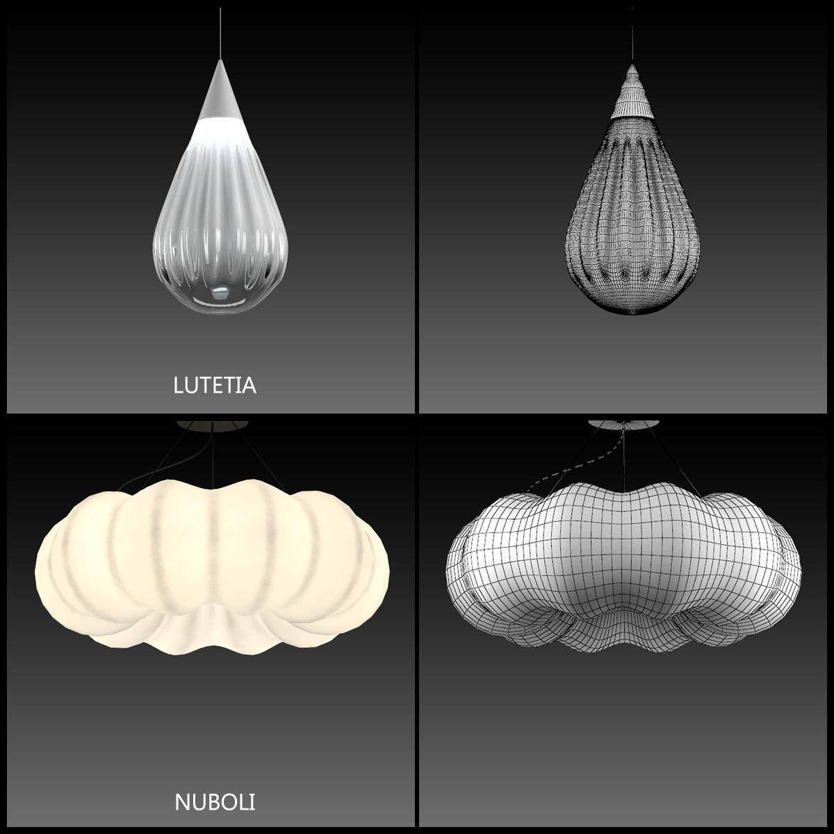 artemide suspension lamps collection vol 2 3d model max obj 7 - Artemide Lighting