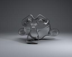 3D Glass Material