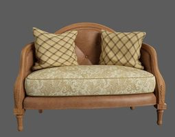 classic sofa vintage 3D