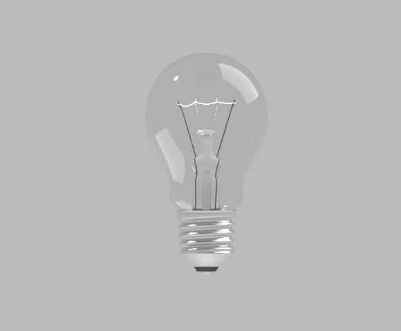 Captivating Light Bulb 1 3d Model Max Obj Mtl 1 ... Ideas