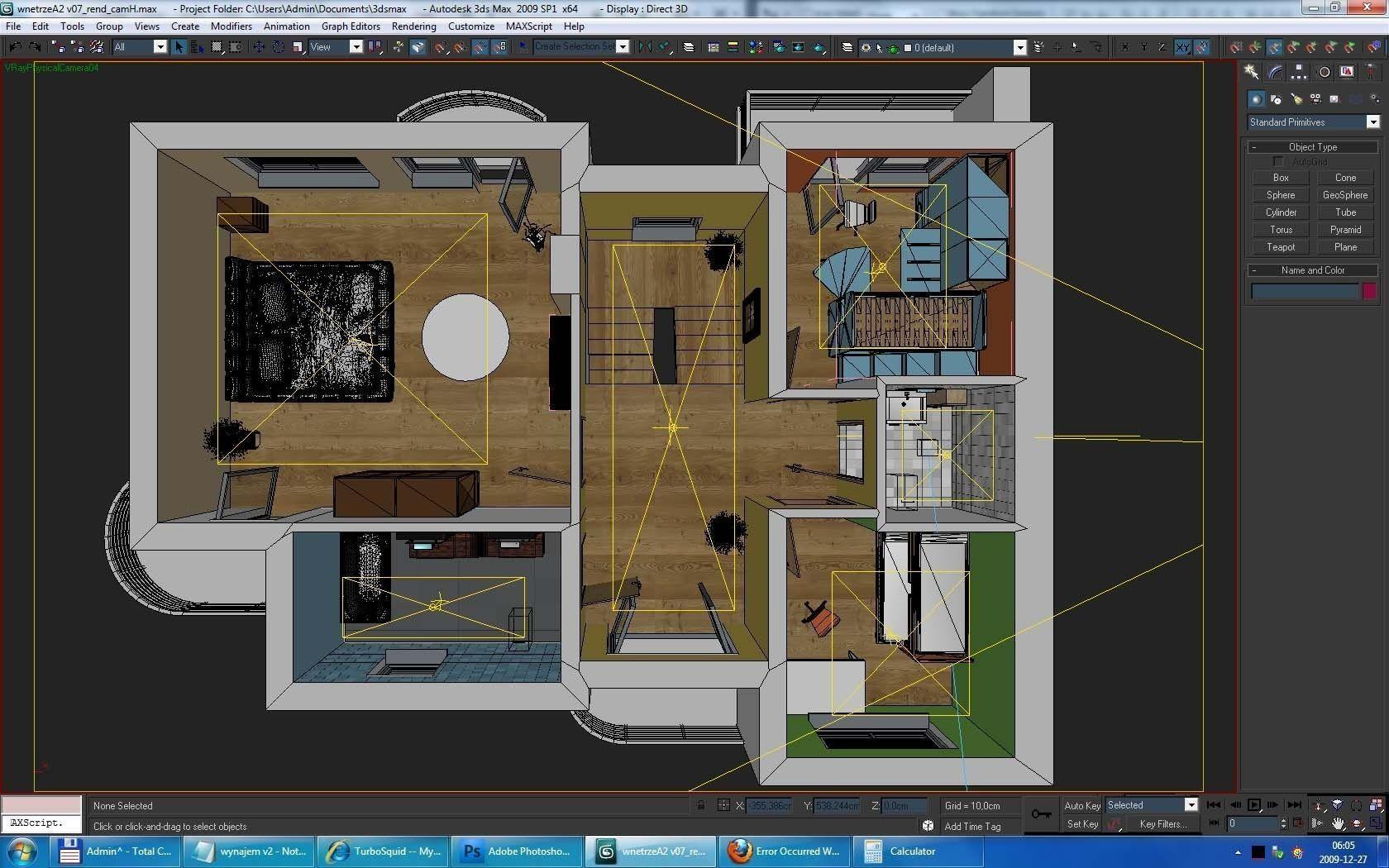 Home Interior Floor Plan 02 3d Model Max Obj