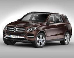 Mercedes Benz GLE Class 2016 3D model