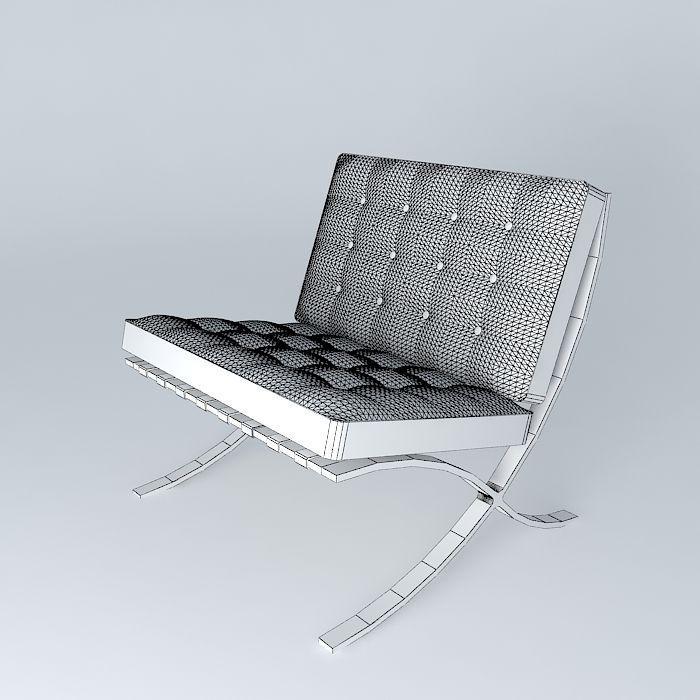rasmussen rud for klint barcelona by model kaare mahogany chair