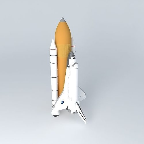 space shuttle discovery 3d model max obj mtl 3ds fbx stl dae 1