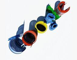 3D model Google SkyScrapers