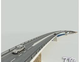 3D model ROADWAY BRIDGE