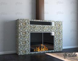 fireplace 03 3d