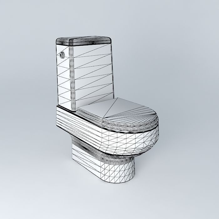 Toilet Bathroom 3D Models Free Download 3D Model Download