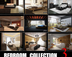 Bedrooms collection 3 3D