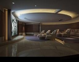 3D model Photoreal Home Cinema