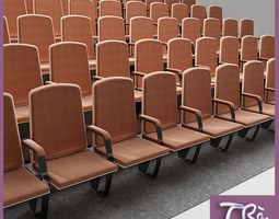 3D model collection THEATER SEATING AREA