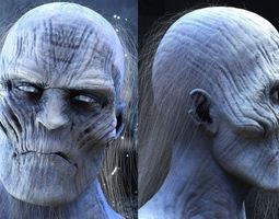 White Walker from Game of Thrones 3D model