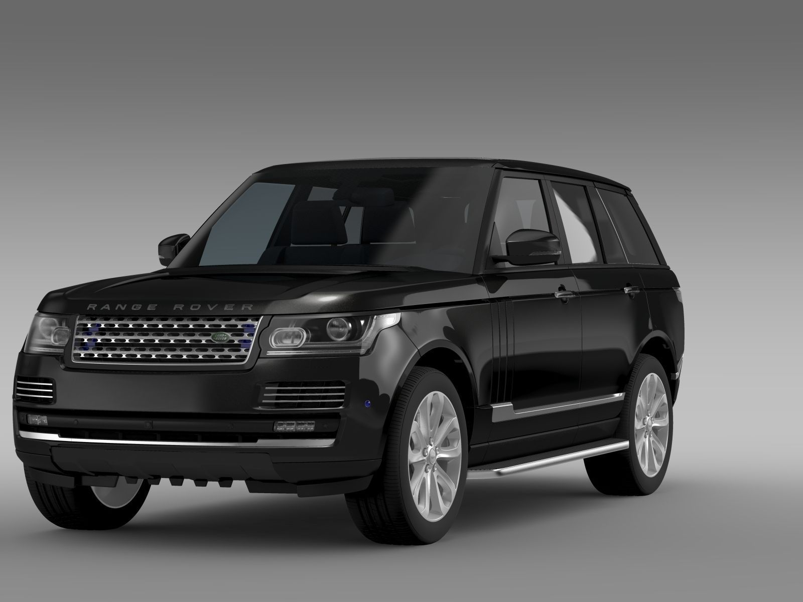 range rover sentinel l405 2016 3d model max obj 3ds fbx. Black Bedroom Furniture Sets. Home Design Ideas