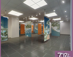 EXHIBITION OFFICE ROOM 3D