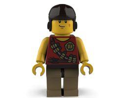 Driver Lego 3D model